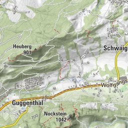 BERGFEX Gaisberg 2 Wanderung Tour Salzburger Land