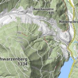BERGFEX Gaisberg Gipfel Panorama ber Gaisberg Landesstrae